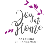 Joy at home - Coaching en rangement
